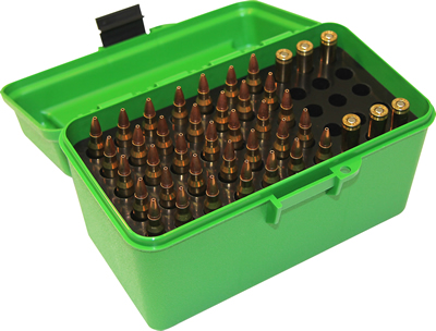 MTM Ammo Case 50 Round DELUXE H-50-RM