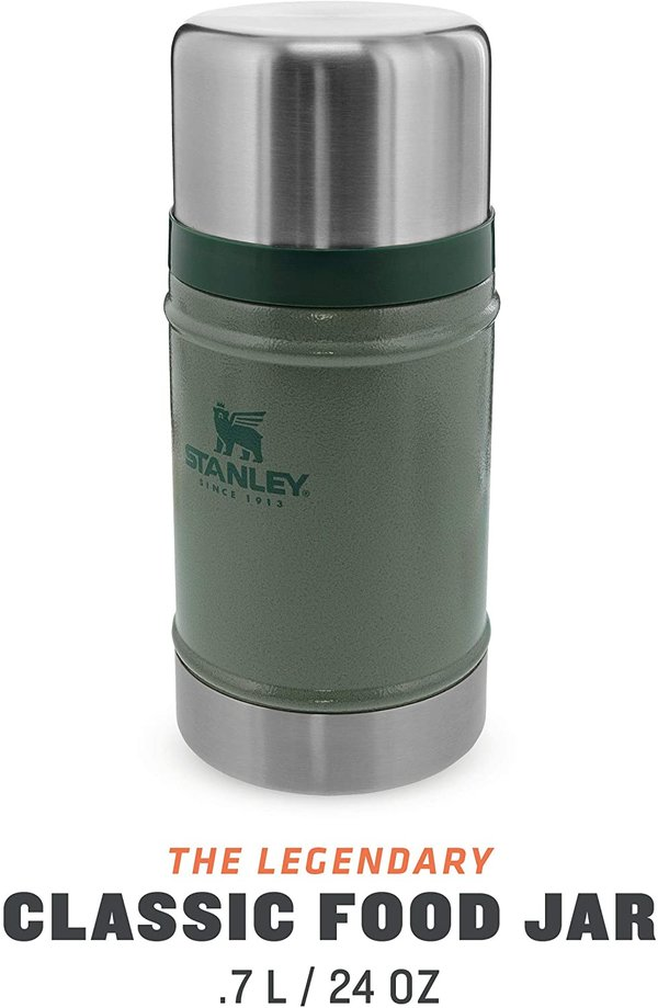 Stanley Classic Food Jar Hammertone Green 24oz .7L