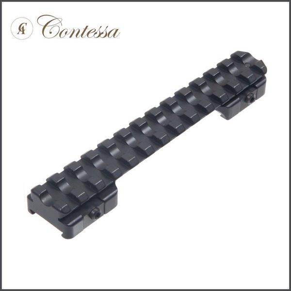 Contessa Picatinny Rail for Sako 85 S-SM Steel 0 MOA