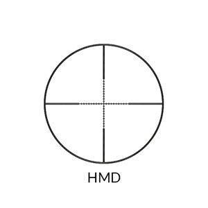 Nikko Stirling MountMaster Illuminated AO Rifle Scope 3-9x50 Half Mil Dot