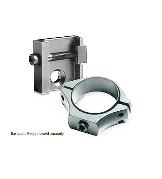 Sako Opti-Lock Scope BASES - Long - Stainless