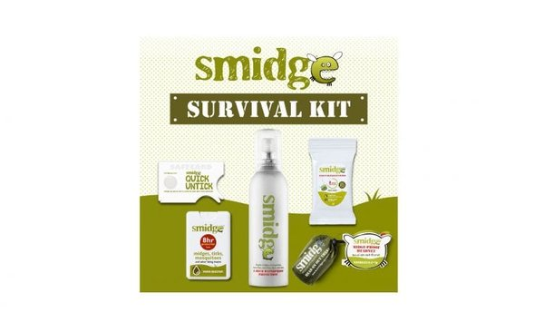 Smidge Insect Repellent Survival Kit