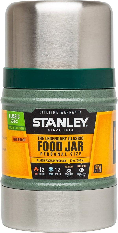 Stanley Legendary Classic Food Jar 0.5 Litre Hammertone Green