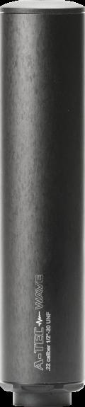 """A-TEC Wave 22/17 Rimfire/ Airgun Silencer 1/2""""-20 UNF"""