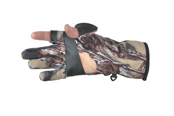 Ridgeline Trigger Glove Buffalo Camo (S-M)