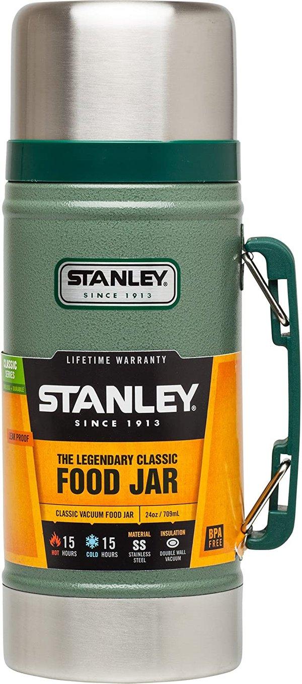 Stanley Legendary Classic Food Jar 0.7 Litre Hammertone Green