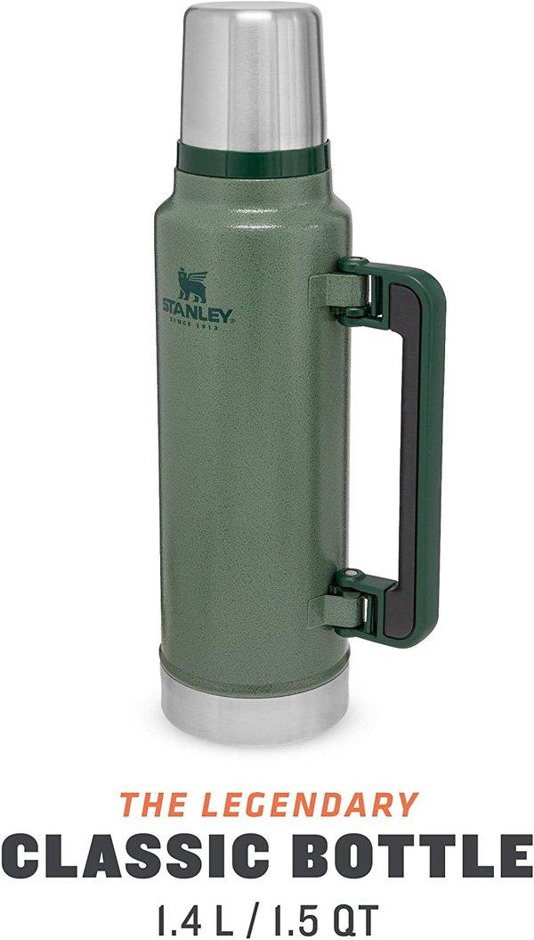 Stanley Classic Legendary Vacuum Flask 1.4 Litre Green